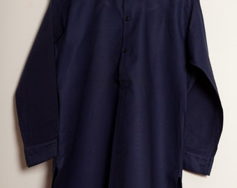 French Moleskin indigo Shirt 1920