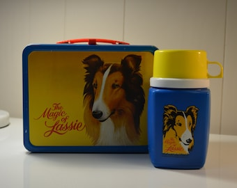The Magic of Lassie Lunch Box with Thermos