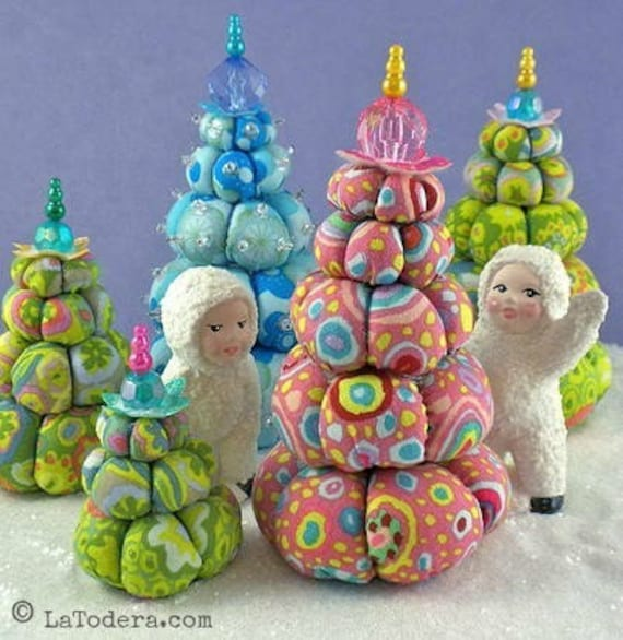 CREAM PUFF TREES Pattern by La Todera