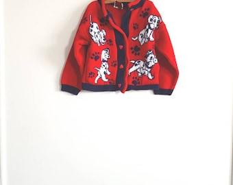 Vintage 101 Dalmatians Sweater
