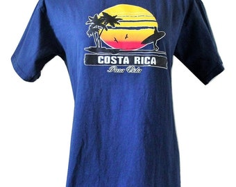 90s Surfer T/Costa Rica Tourist T/Fits Close to: Medium