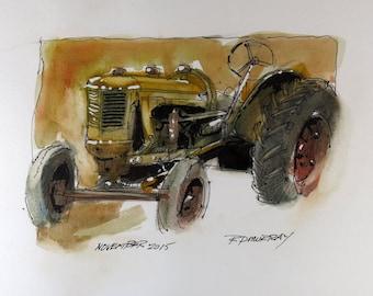 Farm Tractor 0003