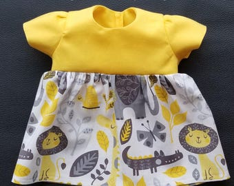 Dress for 15 inch Baby Dolls such as Bitty Baby