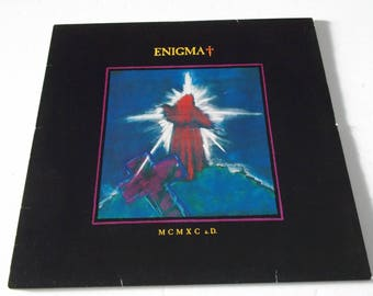 1990 - Enigma - MCMXC a.D. - Complete w/ inner - LP Vinyl Record Album - Classic 90's / Ambient / Chillout / Trance