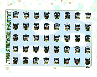 B&J Ice Cream Planner Stickers