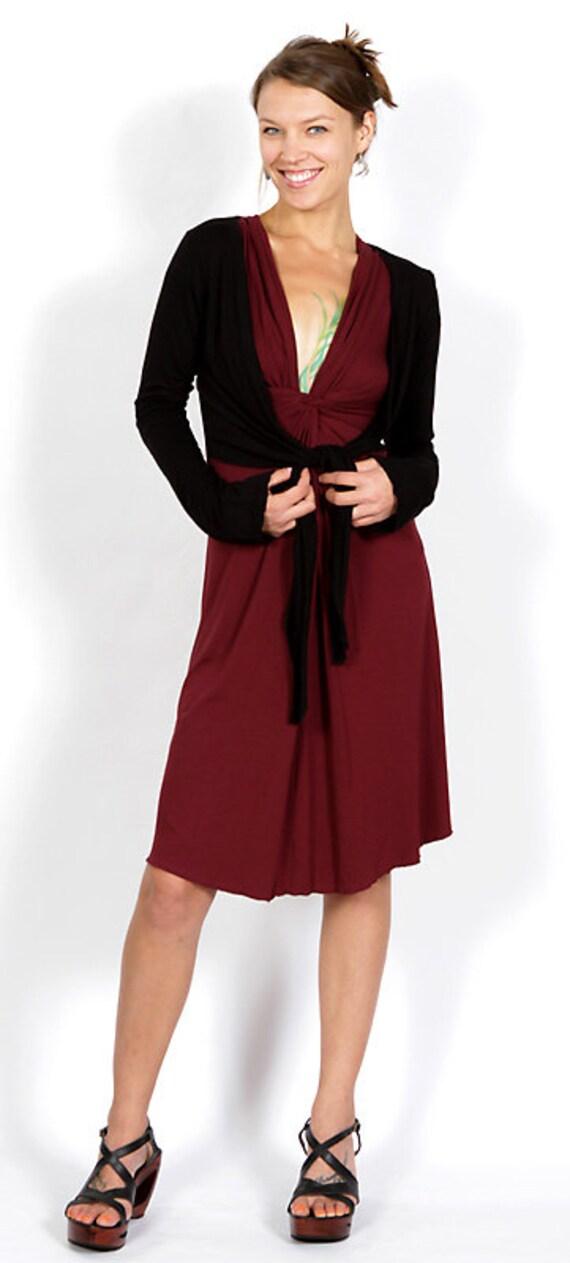Spring Sale! Ballet Jacket in Black Boho Yoga Wear Wholesale Gift