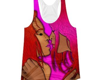 Kiss II | Women's Racerback Tank