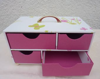 with four drawers storage box