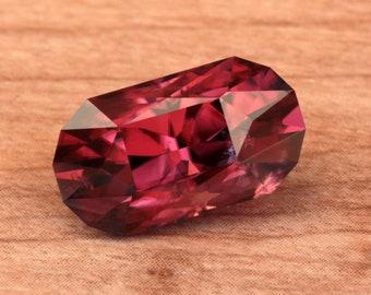9.59 Carat Tanzanian Zircon Gemstone Precision Cut Gem