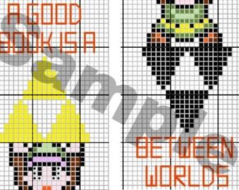 Legend of Zelda - A Link Between Worlds - Cross Stitch Pattern