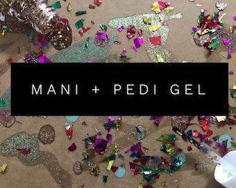 Mani + Pedi Gel