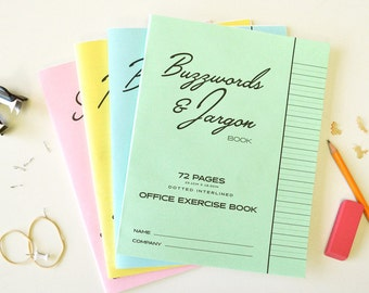 Office Exercise Notebook Set