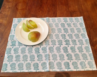 Samode Turquoise Table Mats