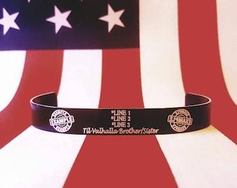 Custom Memorial Bracelet (Please follow instructions in description)