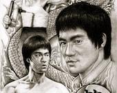 Bruce Lee - A3 Size Poste...
