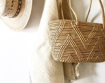 Vintage woven boho bag/boho fashion/boho style/bohemian style/purses/vintage fashion/summer fashion/handbag/vintage/bohemian/gifts for her
