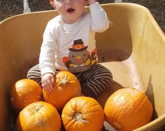 Pumpkin Crochet Baby Hat