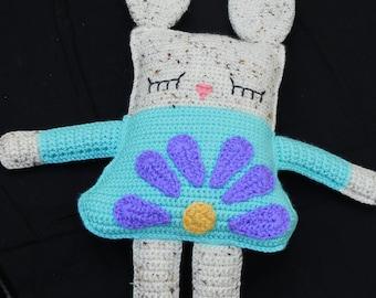 Gloria the Spring Rag Doll Bunny