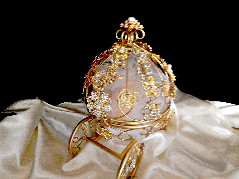 Cinderella Carriage Cake Topper Centerpiece To Match Your