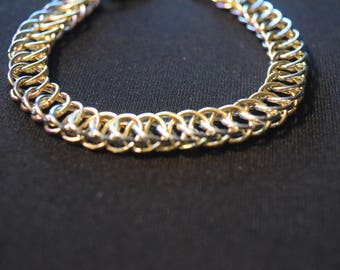 Gold and Silver Persian Bracelet