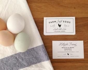 Business cards mushroom design printed calling card custom printed business cards farm fresh eggs egg carton tags contact cards farm stand farmers market business cards colourmoves