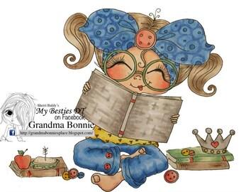 INSTANT DOWNLOAD digitale Digi Stamps Big Eye Big Head poppen nieuwe Besties img697 My Besties door Sherri Baldy