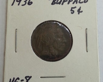 1936 Buffalo Nickel, Great Coin