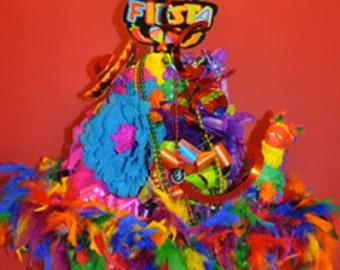 Fiesta Hat-Fiesta Table Topper-Fiesta Table Centerpiece-Cinco de Mayo Centerpiece-Party Decor-Mexican Theme-Mexican Theme Party Decor
