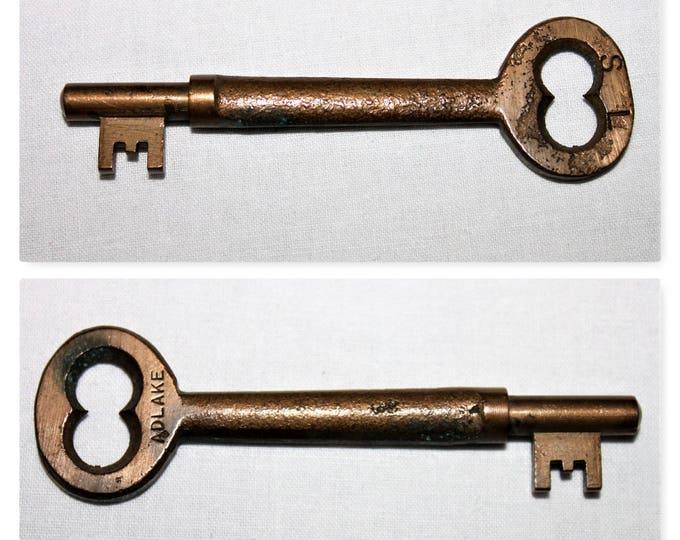 Vintage Sydney and Louisburg Railway Caboose key