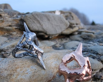 Sand Tiger Shark Tooth Ring in Gold