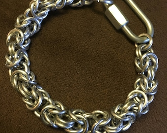 Men's Byzantine Chainmaille Bracelet