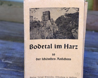 Bodetal im Harz Postcard Booklet