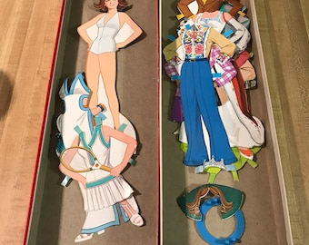 Miss America paper doll