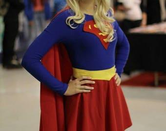 Supergirl Cosplay - DC Comics Costume Superhero Kara Zor-el