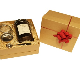 Black Loose Leaf Tea Nonsuch Single Estate 100g Wrapped Gift Set FAST & FREE UK Post