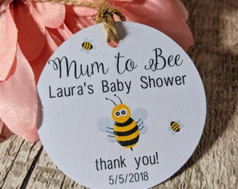 Baby Shower Tags, New Baby Tags, Personalised Tags, Baby Shower, Boy, Girl, Party, Mum To Be Tags