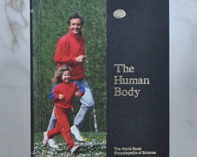 Vintage The World Book Encyclopedia of Science Volume 7 The Human Body 1991 Hardcover - Body Systems - Human Dvelopment - Illness And Health