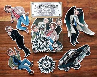 Supernatural - Sticker Set