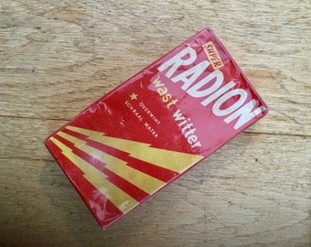 1950s Washing Powder Radion Unopened in Original Box and Cellophane Wrapped