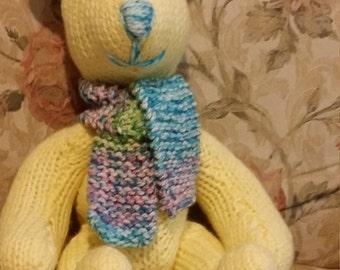 Knitted Stuffed Bears