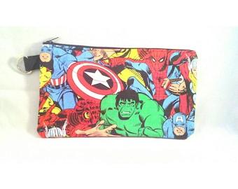 Super Hero Pencil Case Pouch