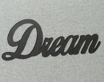 Dream Wall Word Decor Art