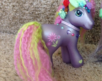My little pony g3 lady flower petals