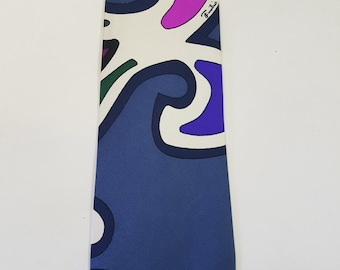 Tie Emilio Pucci-Vintage years 70-New-stock fund