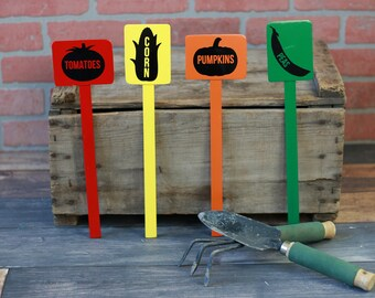 Gardening gift | Garden marker | Garden stakes | Garden marker metal | Vegetable markers | Gift for gardener | Vegetable signs | Gardening