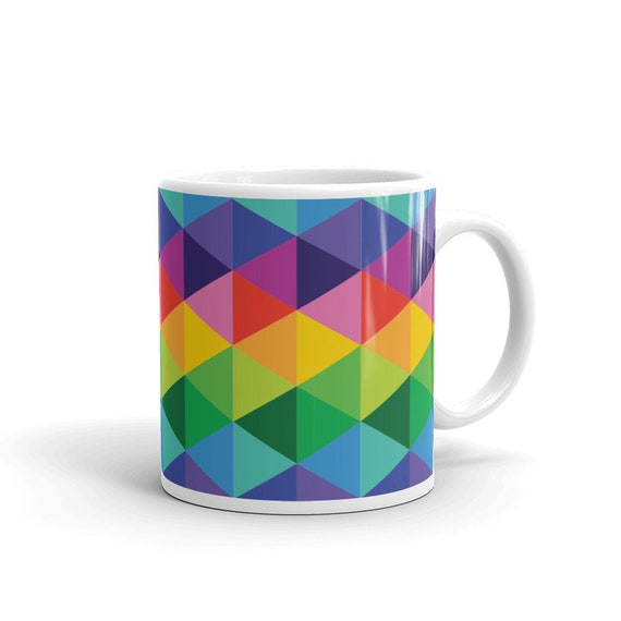Colorful Mug Mothers Day Gift Home and Living Drinkware Tea Cup or Coffee Cup Happy Mothers Day Mom