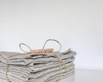 Linen Napkins 46 x 46 cm, assorted colours