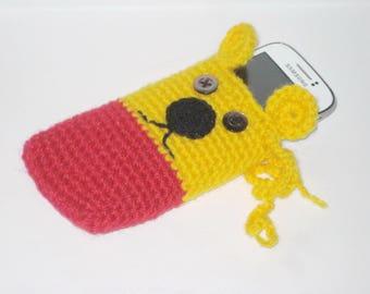 Crochet pattern cell phone case, Smartphone cozy tutorial, Crochet phone cover PDF pattern, Easy crochet pattern