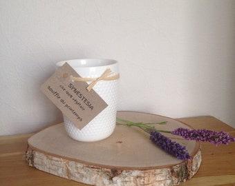 Scandinavian mug scented candle