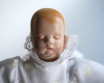 Retro Sleeping Baby Doll